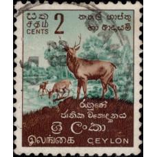 1951-1954. Почтовая марка Цейлона. Местные мотивы, 2C