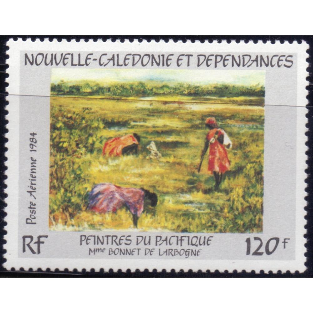 1984, ноябрь. Почтовая марка Новой Каледонии. Искусство из Тихого океана, 120F