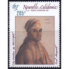 1992, сентябрь. Почтовая марка Новой Каледонии. Авиапочта - Картины, 205F