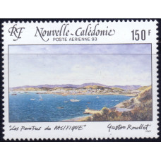 1993, март. Почтовая марка Новой Каледонии. Авиапочта - Картины, 150F