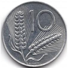 10 лир 1981 Италия - 10 lire 1981 Italy, из оборота
