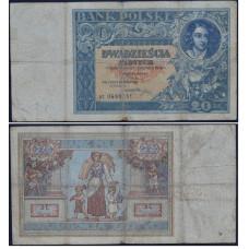 20 злотых 1931 Польша - 20 zloty 1931 Poland