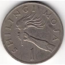 1 шиллинг 1983 Танзания - 1 shilling 1983 Tanzania, из оборота