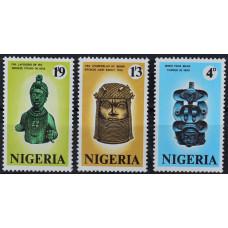 1971, сентябрь. Набор почтовых марок Нигерии. Древности Нигерии