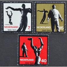 1965, апрель. Набор почтовых марок Нидерландов. Сопротивление 1940-1945
