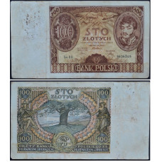 100 злотых 1934 Польша - 100 zloty 1934 Poland