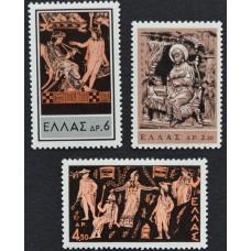 1959 - 1966. Набор почтовых марок Греции. Греческий театр и народное искусство