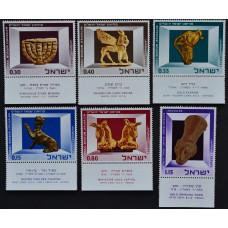 1966, октябрь. Набор почтовых марок Израиля. Музейные экспонаты Израиля