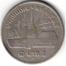 1 бат 1982 Таиланд - 1 baht 1982 Thailand, из оборота