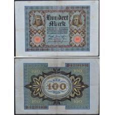 100 марок 1920 Веймарская Республика - 100 mark 1920 Germany