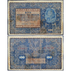 100 марок 1919 Польша - 100 marek 1919 Poland