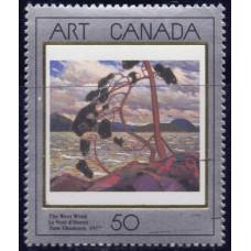 1990, май. Почтовая марка Канады. Канадское искусство, 50С