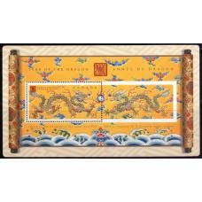 2000, январь. Почтовая марка Канады. Китайский Новый Год - Год Дракона, 95С