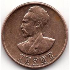 1 цент 1936 Эфиопия - 1 cent 1936 Ethiopia, из оборота
