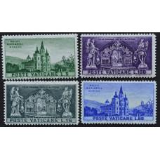 1957, ноябрь. Набор почтовых марок Ватикана. 800-летие церкви Мариазель