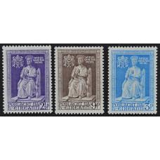 1950, сентябрь. Набор почтовых марок Ирландии. Святой год