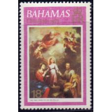 1973, октябрь. Почтовая марка Багамских островов. Рождество, 18С