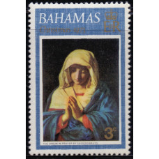 1973, октябрь. Почтовая марка Багамских островов. Рождество, 3С