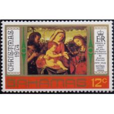 1974, октябрь. Почтовая марка Багамских островов. Рождество, 12С