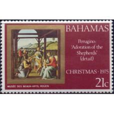 1975, декабрь. Почтовая марка Багамских островов. Рождество, 21С
