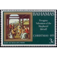 1975, декабрь. Почтовая марка Багамских островов. Рождество, 3С
