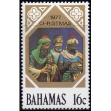1977, октябрь. Почтовая марка Багамских островов. Рождество, 16С