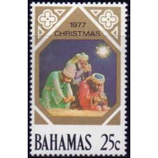 1977, октябрь. Почтовая марка Багамских островов. Рождество, 25С