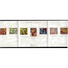"""1998, август. Буклет почтовых марок Канады. 50-летие """"Рефус Глобал"""", 45С"""
