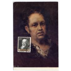 Картмаксимум -  Франсиско Хосе де Гойя, Испания