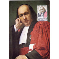 Картмаксимум - 100 лет со дня смерти Клода Бернара, Франция