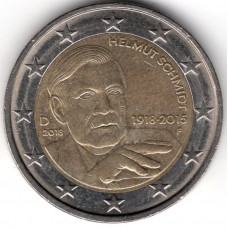 2 евро 2018 Германия - 2 euro 2018 Germany, D