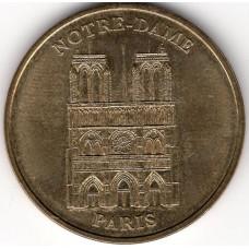 Сувенирный жетон Франции. NOTRE-DAME DE PARIS. 2004